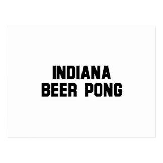 Indiana Beer Pong Postcard
