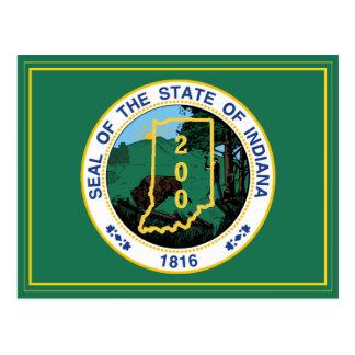 Indiana bicentenaria tarjeta postal