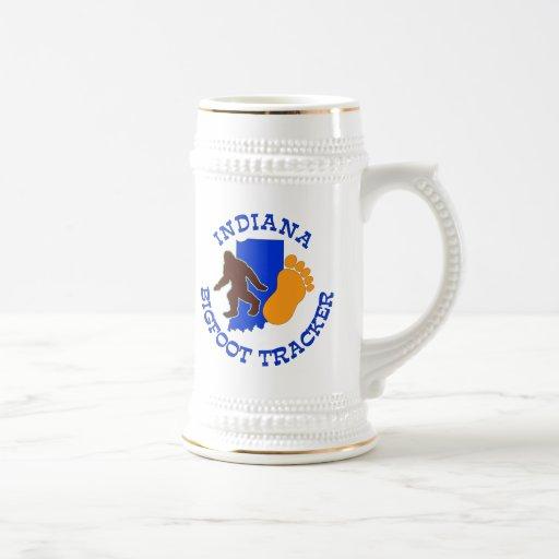Indiana Bigfoot Tracker 18 Oz Beer Stein