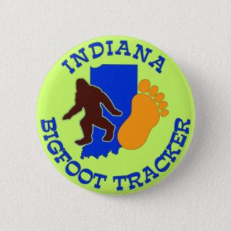 Indiana Bigfoot Tracker Button
