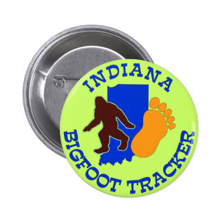 Indiana Bigfoot Tracker Buttons