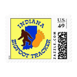 Indiana Bigfoot Tracker Postage Stamp