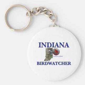 Indiana Birdwatcher Llaveros