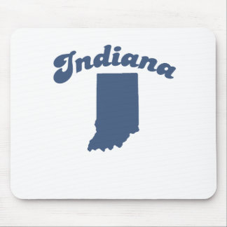 INDIANA Blue State Mouse Pad