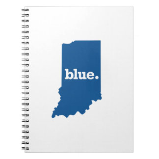 INDIANA BLUE STATE NOTEBOOK