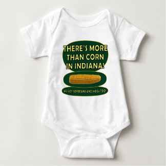 Indiana Corn Baby Bodysuit