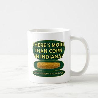 Indiana Corn Classic White Coffee Mug