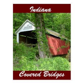 Indiana Covered Bridge Postcard