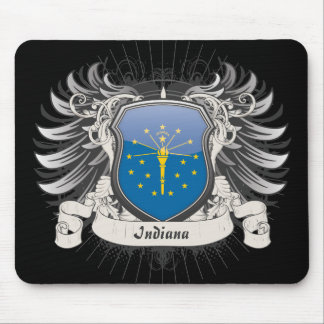 Indiana Crest Mouse Pad