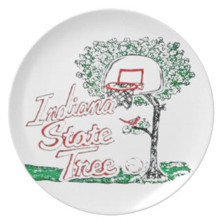 Indiana Dinner Plate