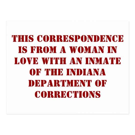 Indiana DoC #1 Postcard