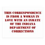 Indiana doc. #1 tarjetas postales