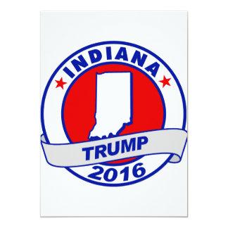 """Indiana Donald Trump 2016.png Invitación 5"""" X 7"""""""