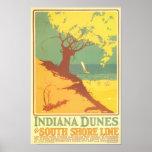 Indiana Dunes Beach Poster