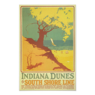 Indiana Dunes Beach Posters