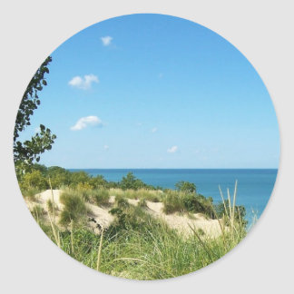 Indiana Dunes National Lakeshore Classic Round Sticker