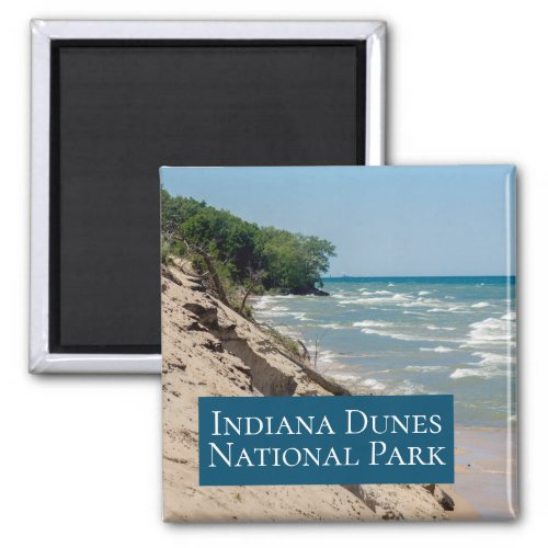 Indiana Dunes National Park Vacation Magnet