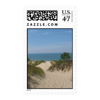 Indiana Dunes Postage Stamp