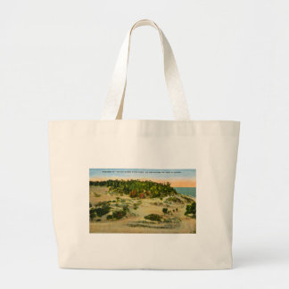 Indiana Dunes State Park Lake Michigan, Indiana Large Tote Bag