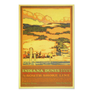 Indiana Dunes State Park Poster