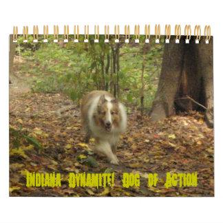 Indiana Dynamite! Dog of Action Calendar
