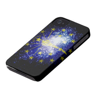 Indiana flag fireworks iPhone 4 cover