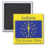 Indiana Flag Magnet