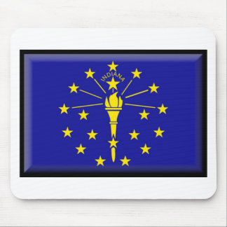 Indiana Flag Mouse Pad