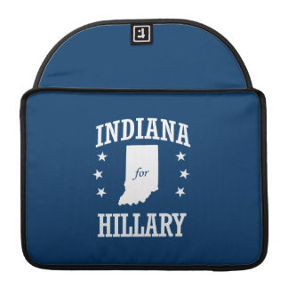 INDIANA FOR HILLARY SLEEVE FOR MacBook PRO