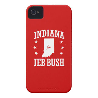 INDIANA FOR JEB BUSH iPhone 4 COVERS