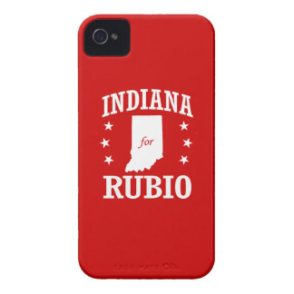 INDIANA FOR RUBIO iPhone 4 COVERS