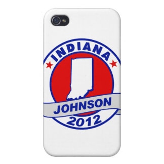 Indiana Gary Johnson Cases For iPhone 4