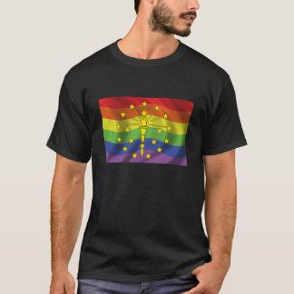 Indiana Gay Pride Flag T-Shirt
