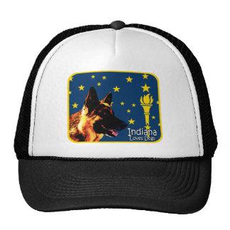 Indiana German Shepherd Trucker Hat