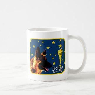 Indiana German Shepherd Coffee Mug