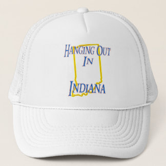 Indiana - Hanging Out Trucker Hat