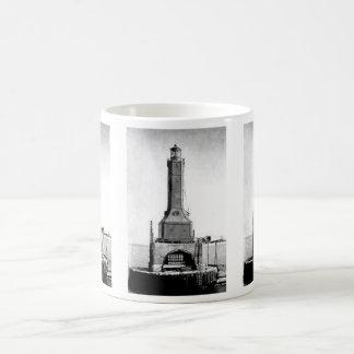 Indiana Harbor East Breakwater Lighthouse Coffee Mug