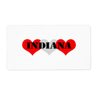 Indiana Heart Labels