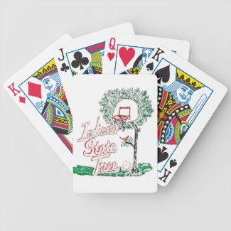 Indiana high school basketball bicycle playing cards