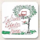 Indiana high school basketball coaster