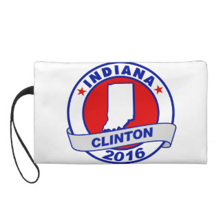 indiana Hillary Clinton 2016.png Wristlet