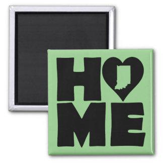 Indiana Home Heart State Fridge Magnet