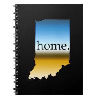 Indiana Home Horizon Spiral Note Books