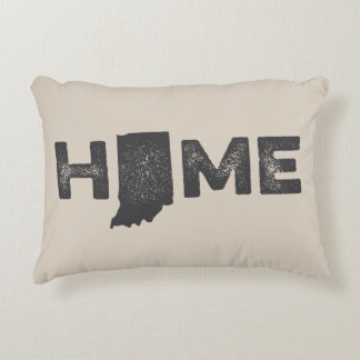 Indiana Home State Love Pillow Accent Pillow