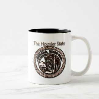 Indiana Hoosier State Seal Coffee Mug