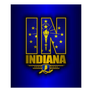 Indiana (IN) Poster
