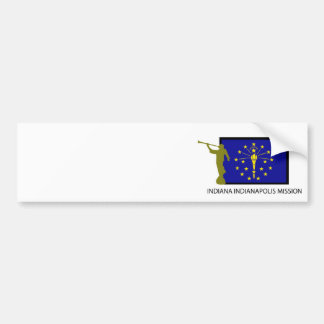INDIANA INDIANAPOLIS MISSION LDS CTR BUMPER STICKER