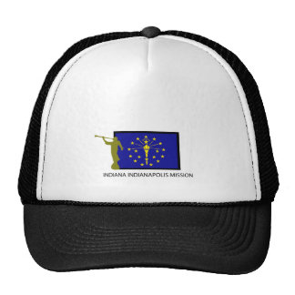 INDIANA INDIANAPOLIS MISSION LDS CTR TRUCKER HAT