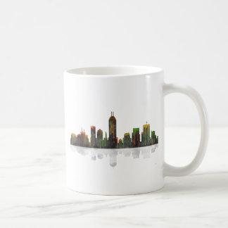 Indiana Indianapolis Skyline Coffee Mug