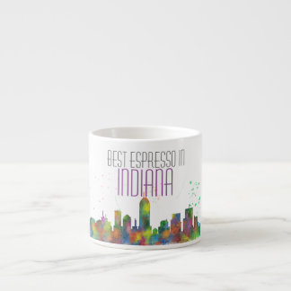 INDIANA, INDIANAPOLIS SKYLINE ESPRESSO CUP